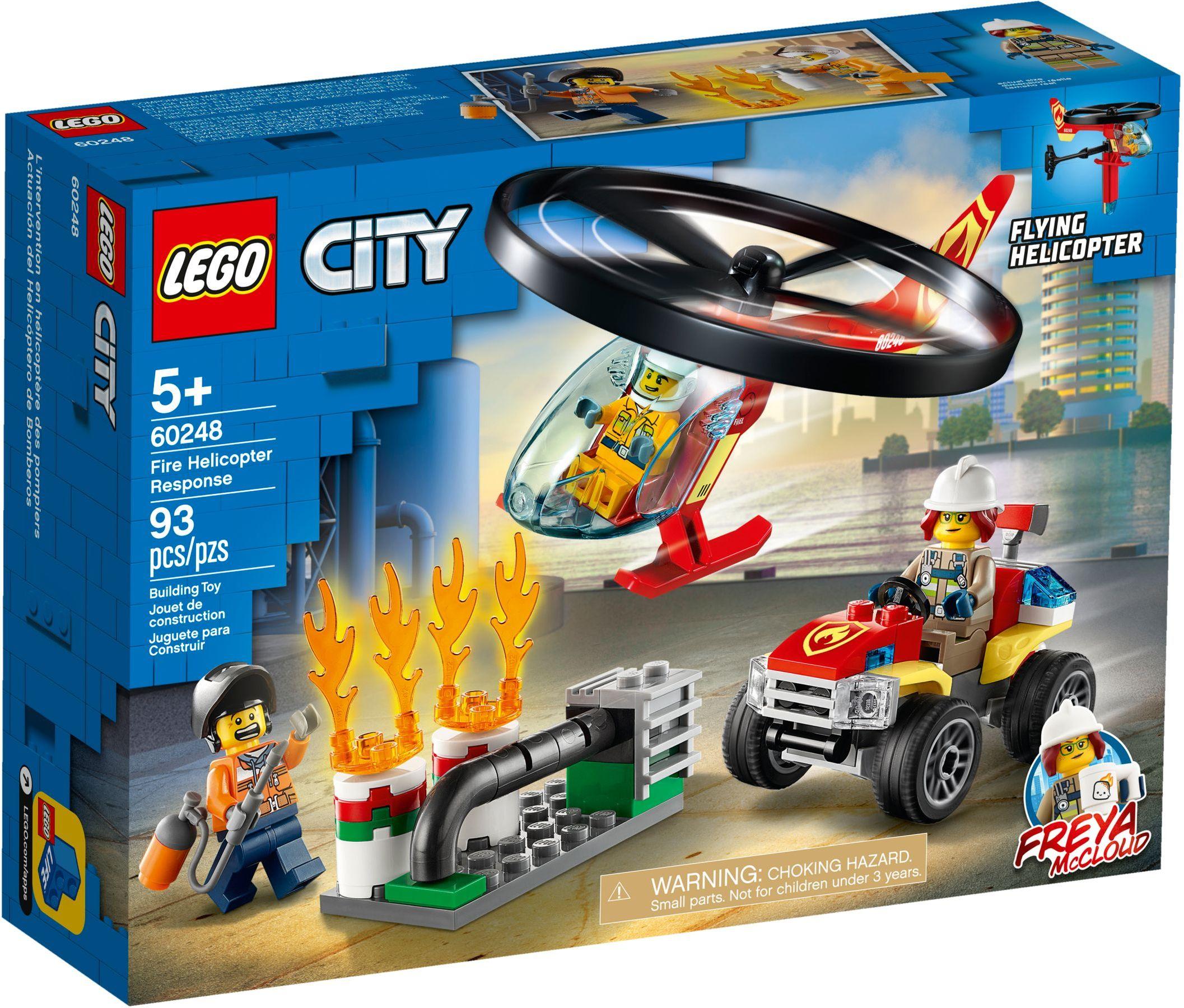 LEGO® 60248 - Sürgősségi tűzoltó helikopter