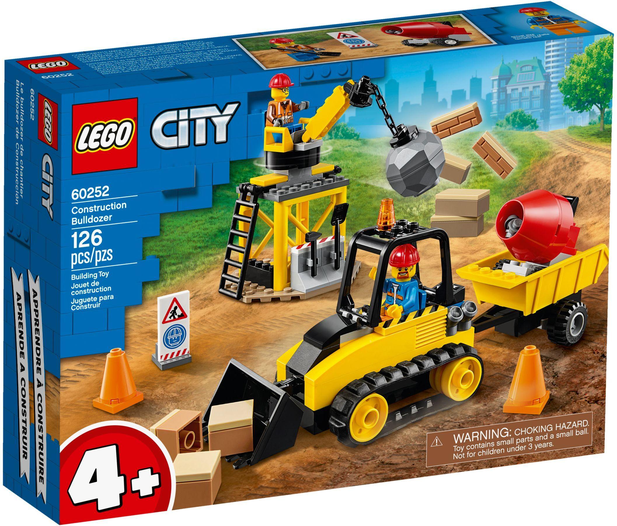 LEGO® 60252 - Építőipari buldózer