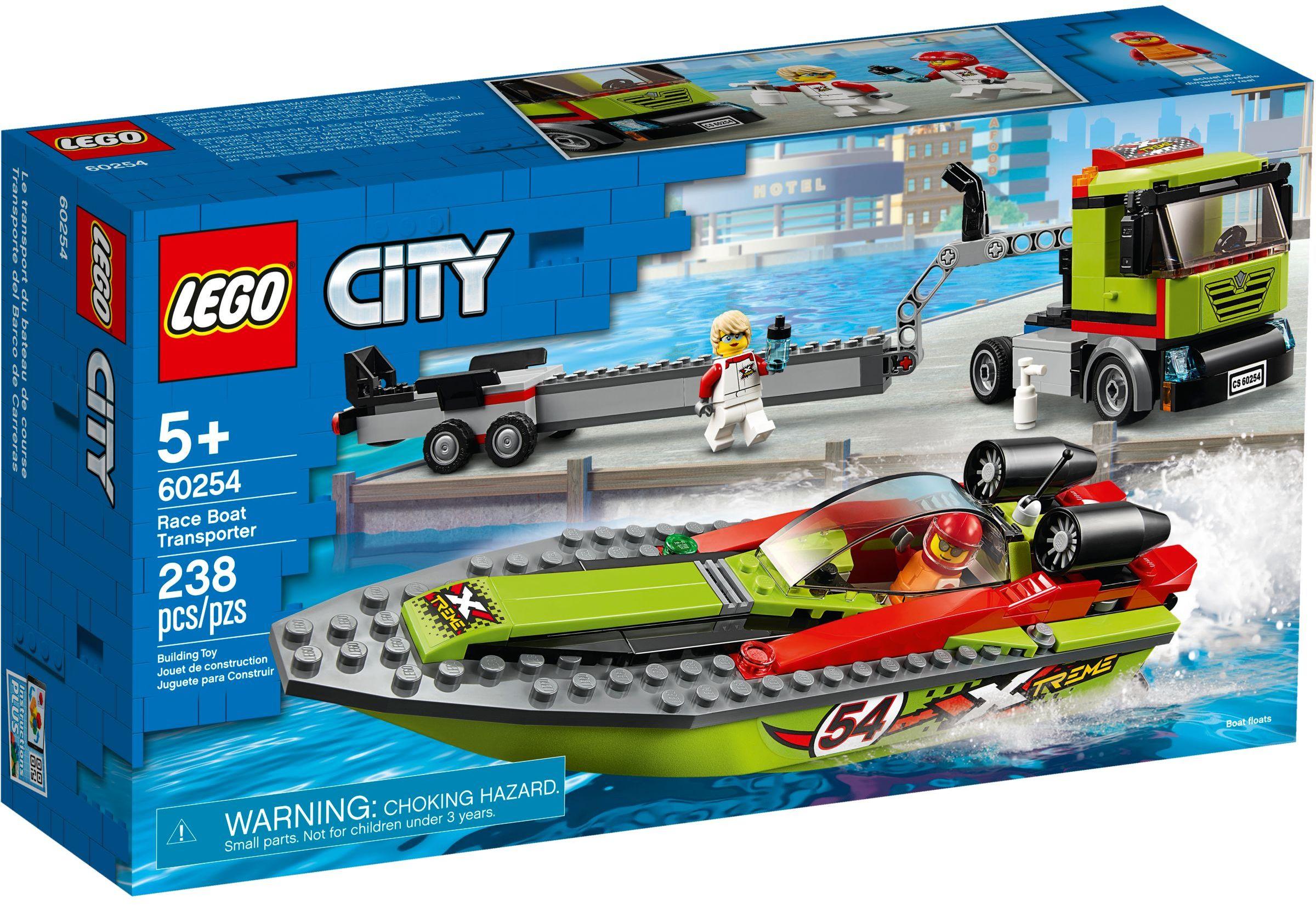 LEGO® 60254 - Versenycsónak szállító