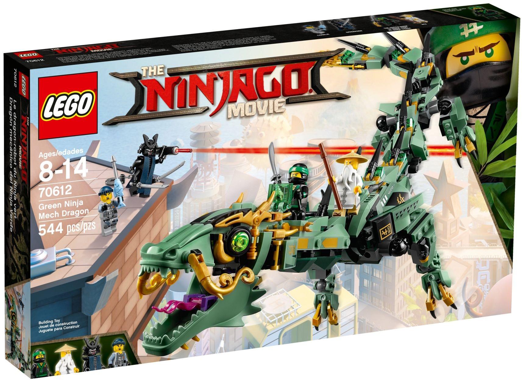 LEGO® Zöld nindzsa mechanikus sárkány