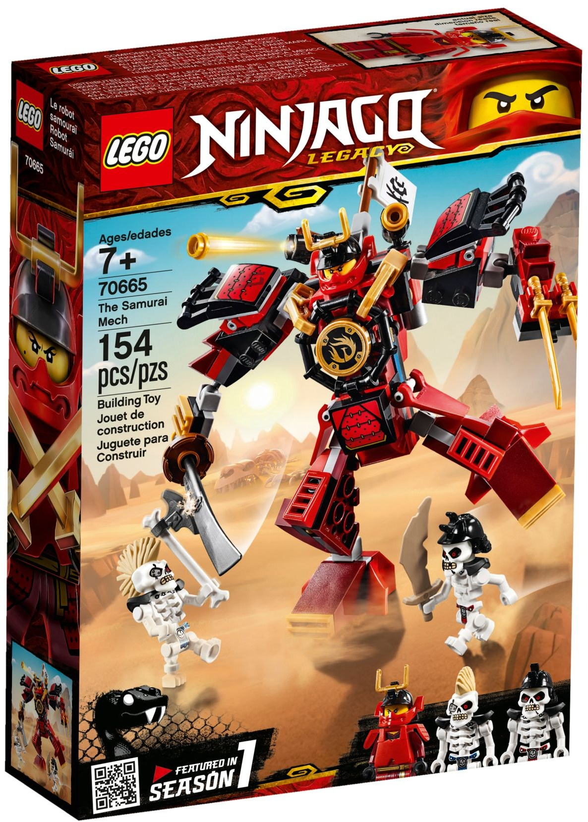 LEGO® 70665 - Szamuráj mech