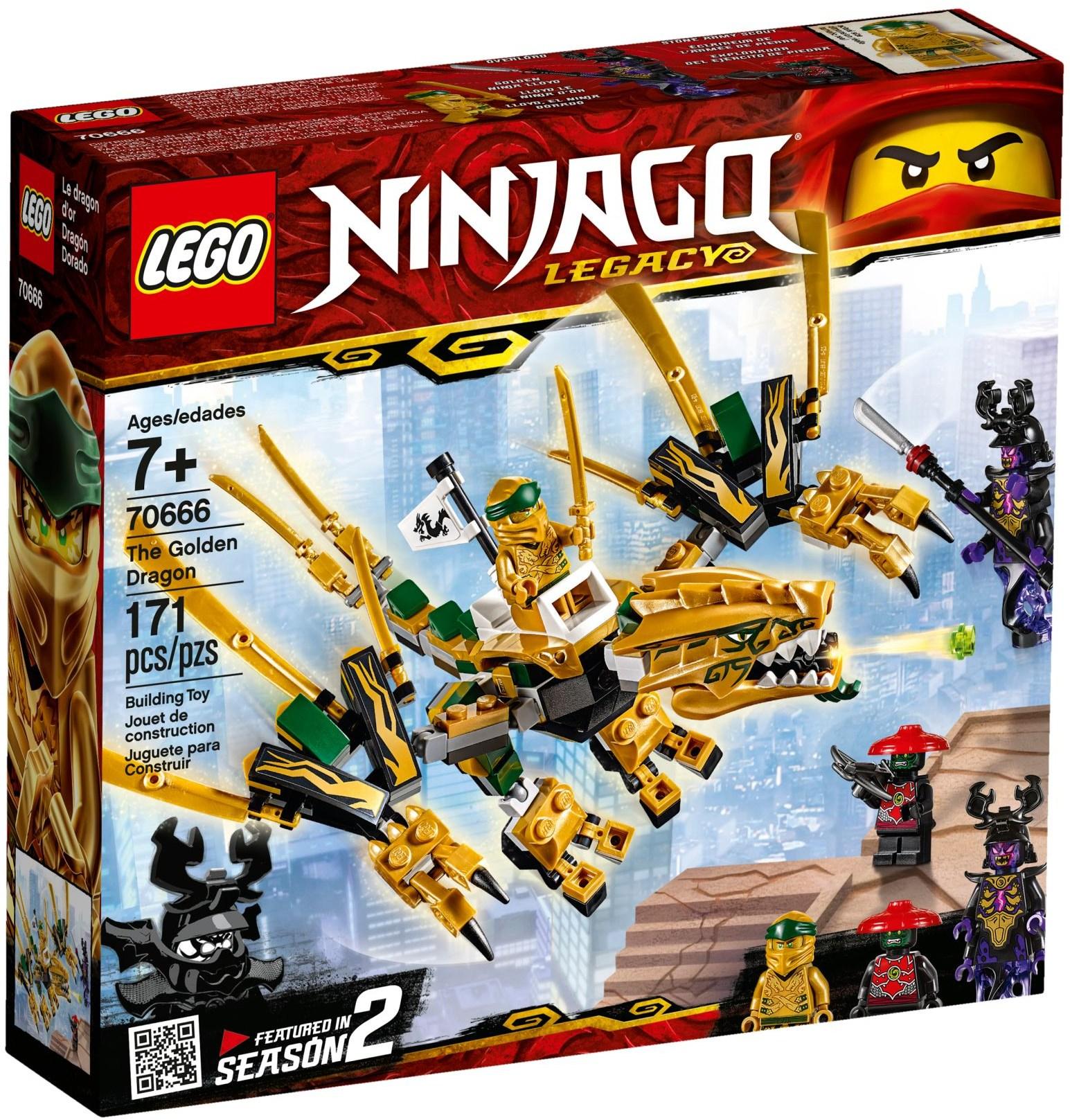 LEGO® 70666 - Az aranysárkány