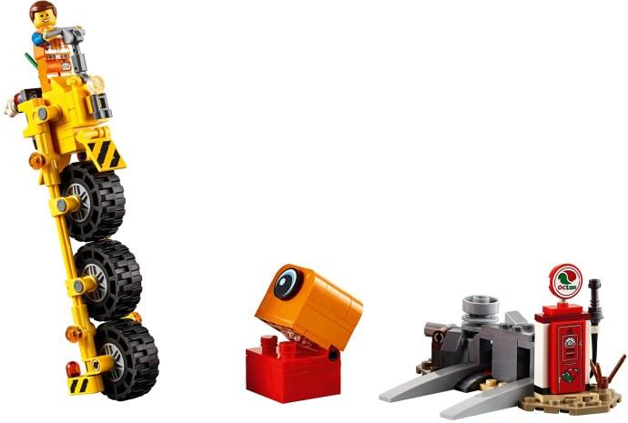 LEGO® 70823 - Emmet triciklije!