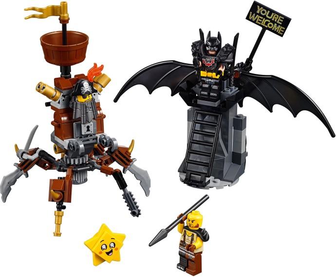 LEGO® 70836 - Harcra kész Batman™ és Fémszakáll