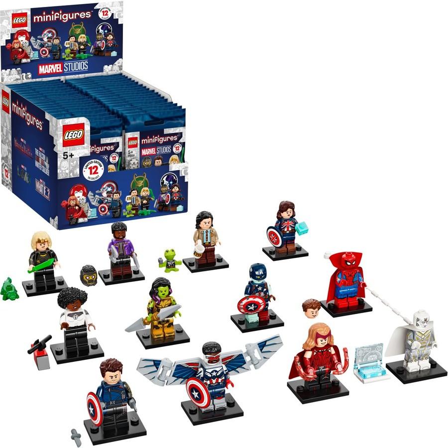 Minifigurák 71031 - LEGO® Minifigurák Marvel Studios