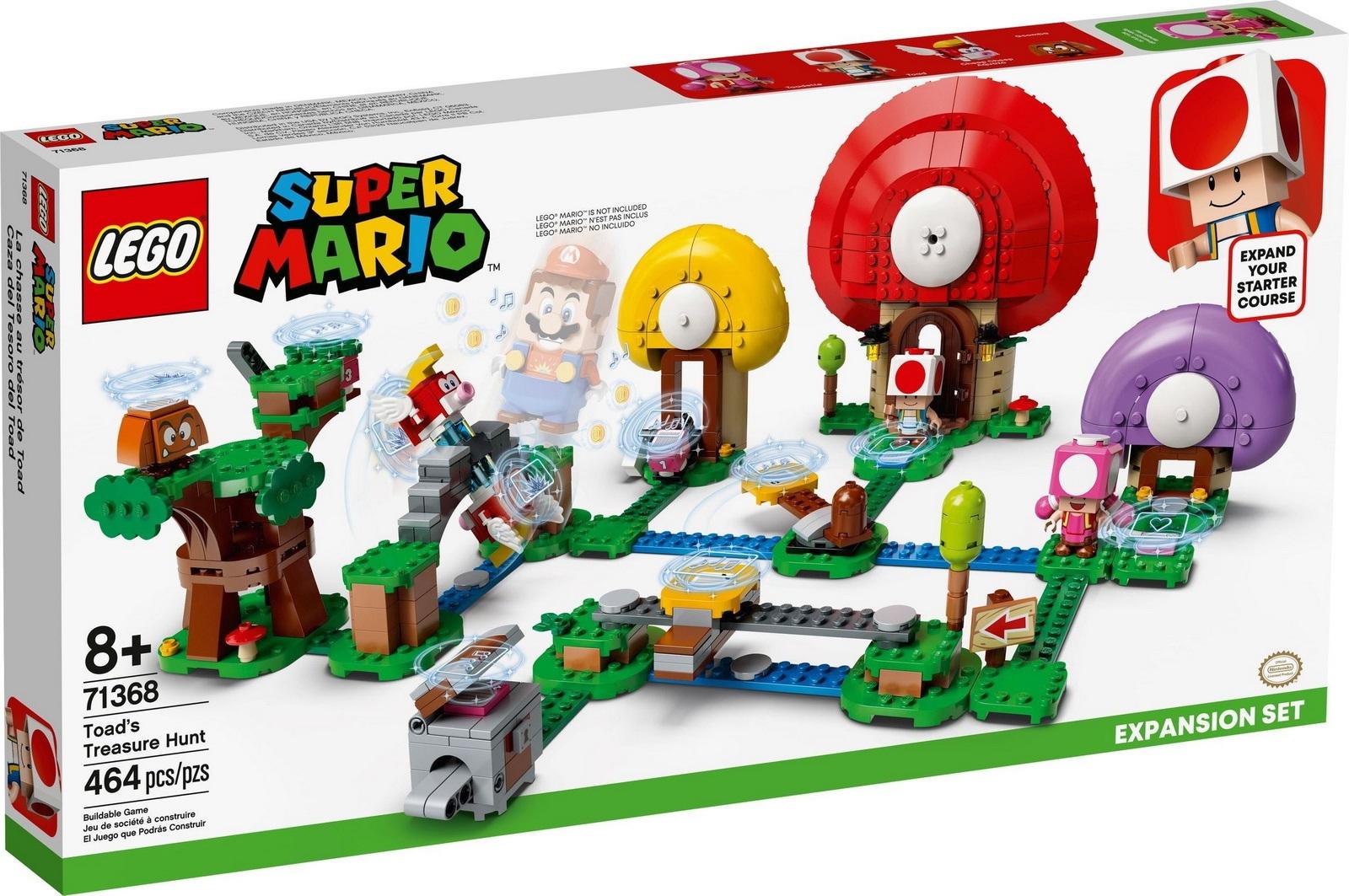 LEGO® 71368 - Toad kincsvadászata kiegészítő szett