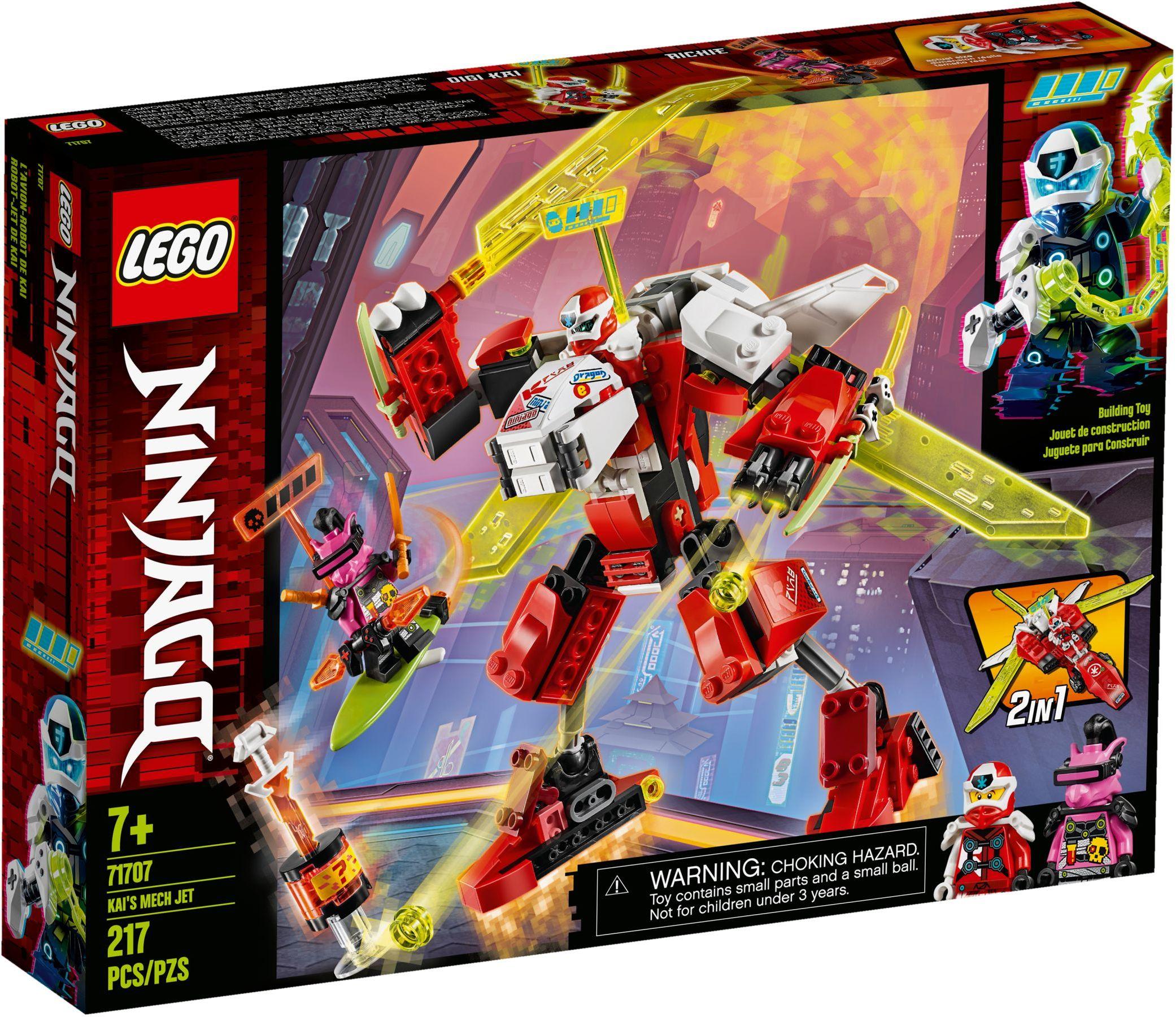 LEGO® 71707 - Kai sugárhajtású robotja