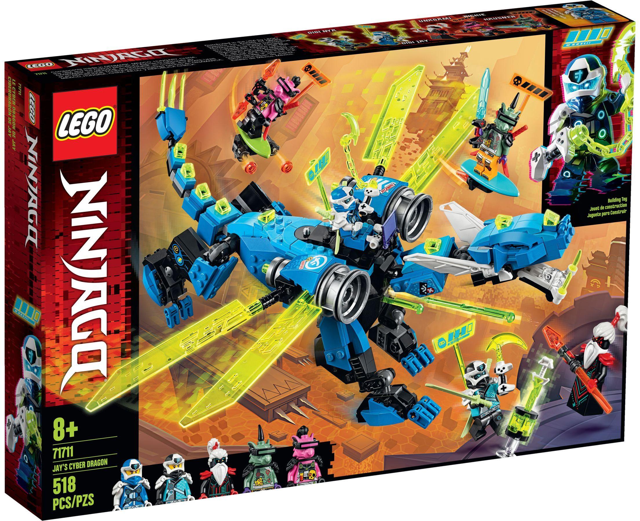 LEGO® 71711 - Jay kibersárkánya