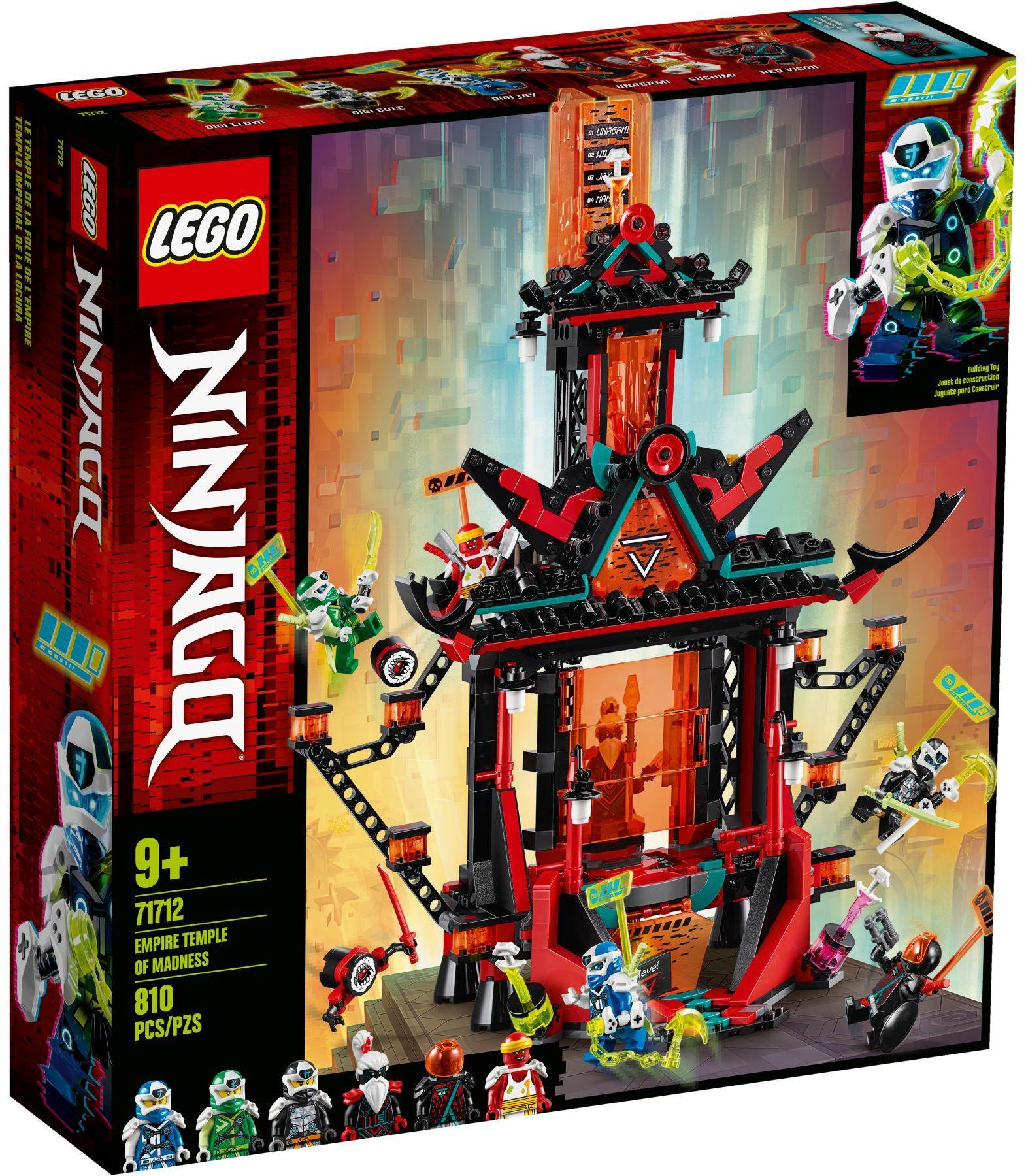 LEGO® 71712 - Az őrült birodalom temploma