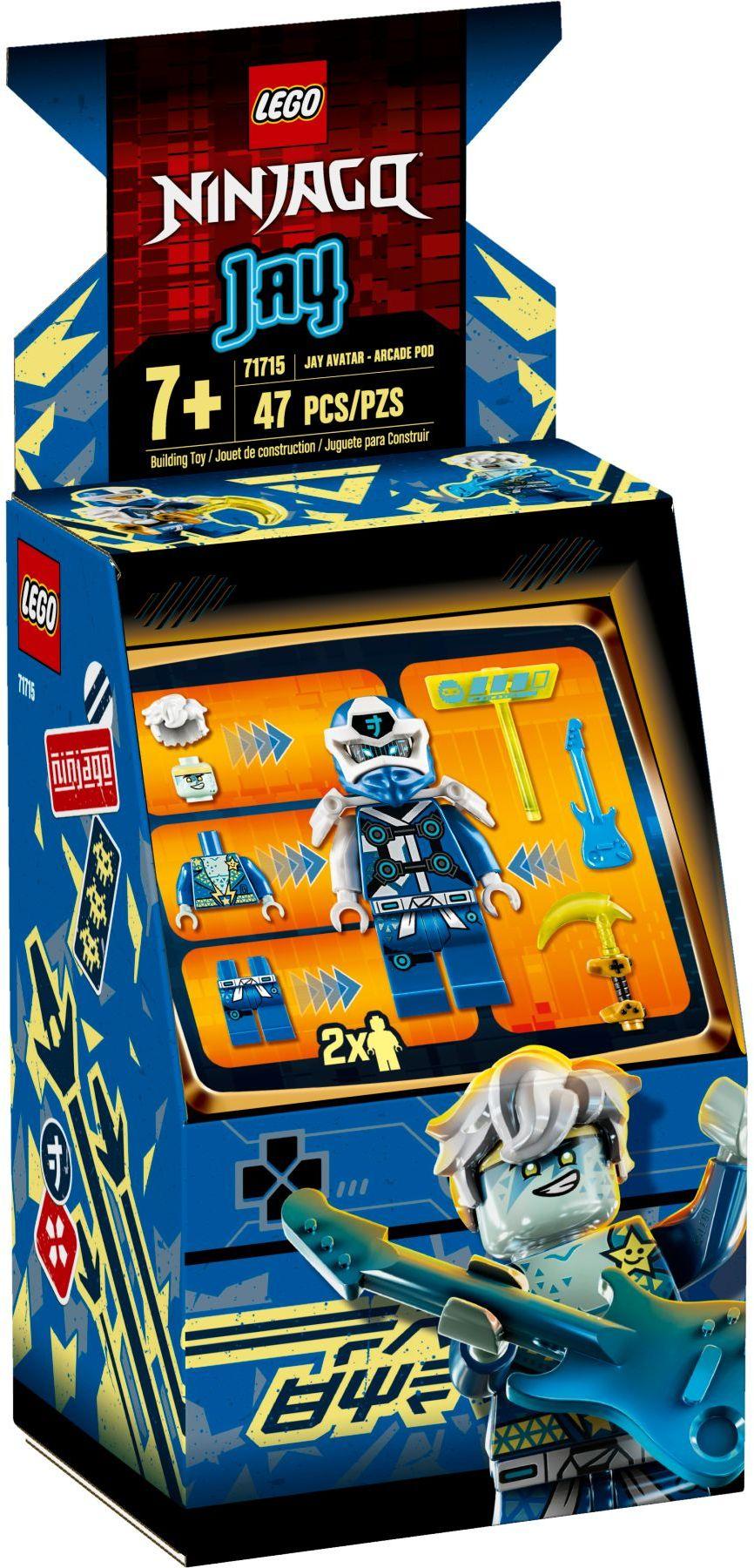 LEGO® 71715 - Jay Avatár - Játékautomata