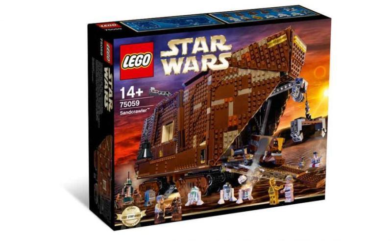 LEGO® Homokfutó bányagép