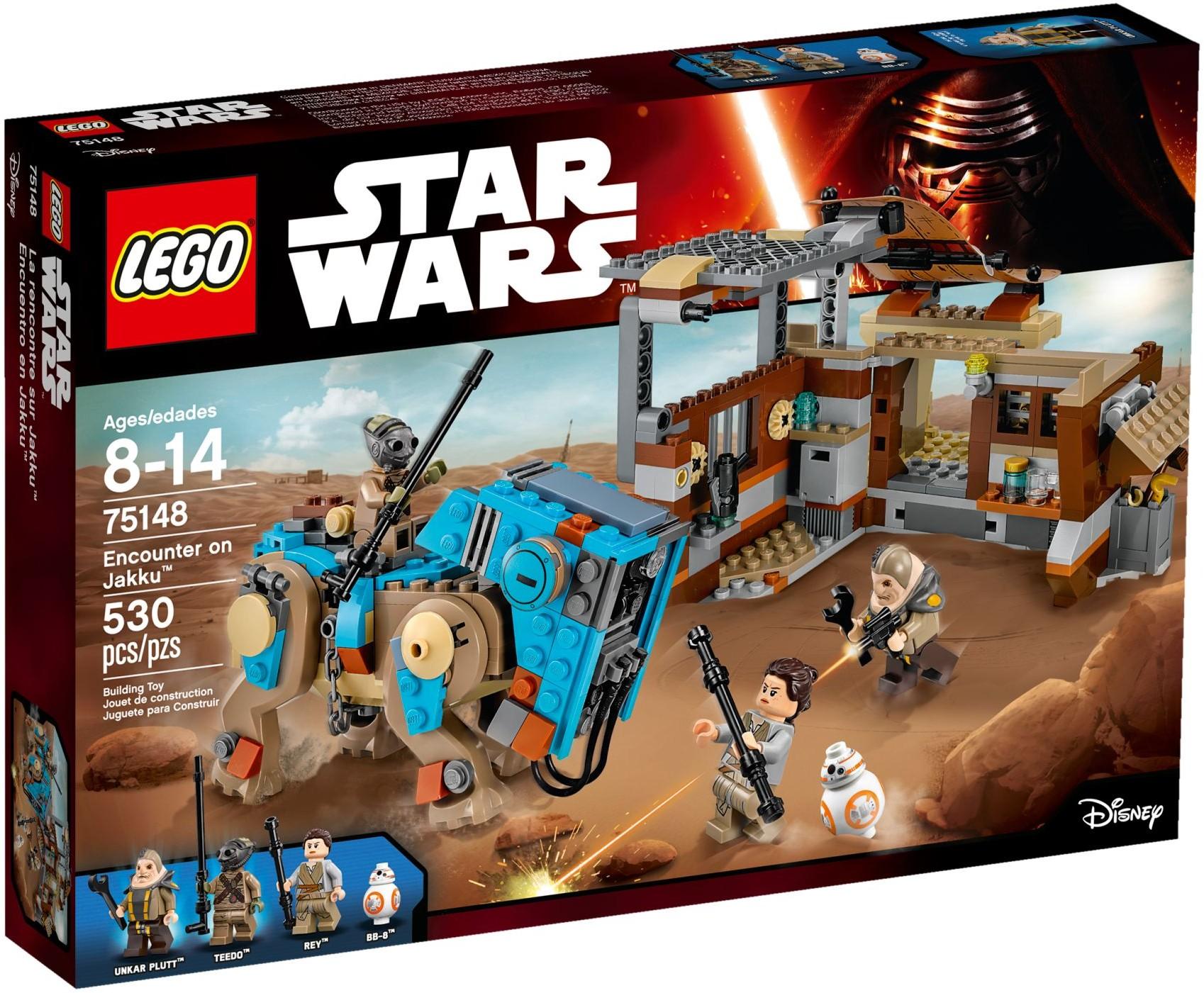 LEGO® Összecsapás a Jakku bolygón