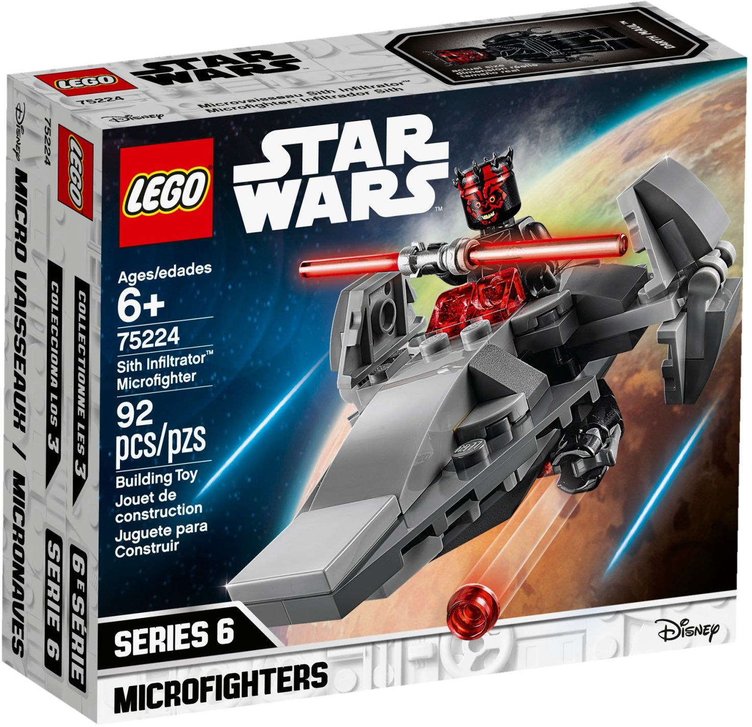 LEGO® 75224 - Sith Infiltrator™ Microfighter