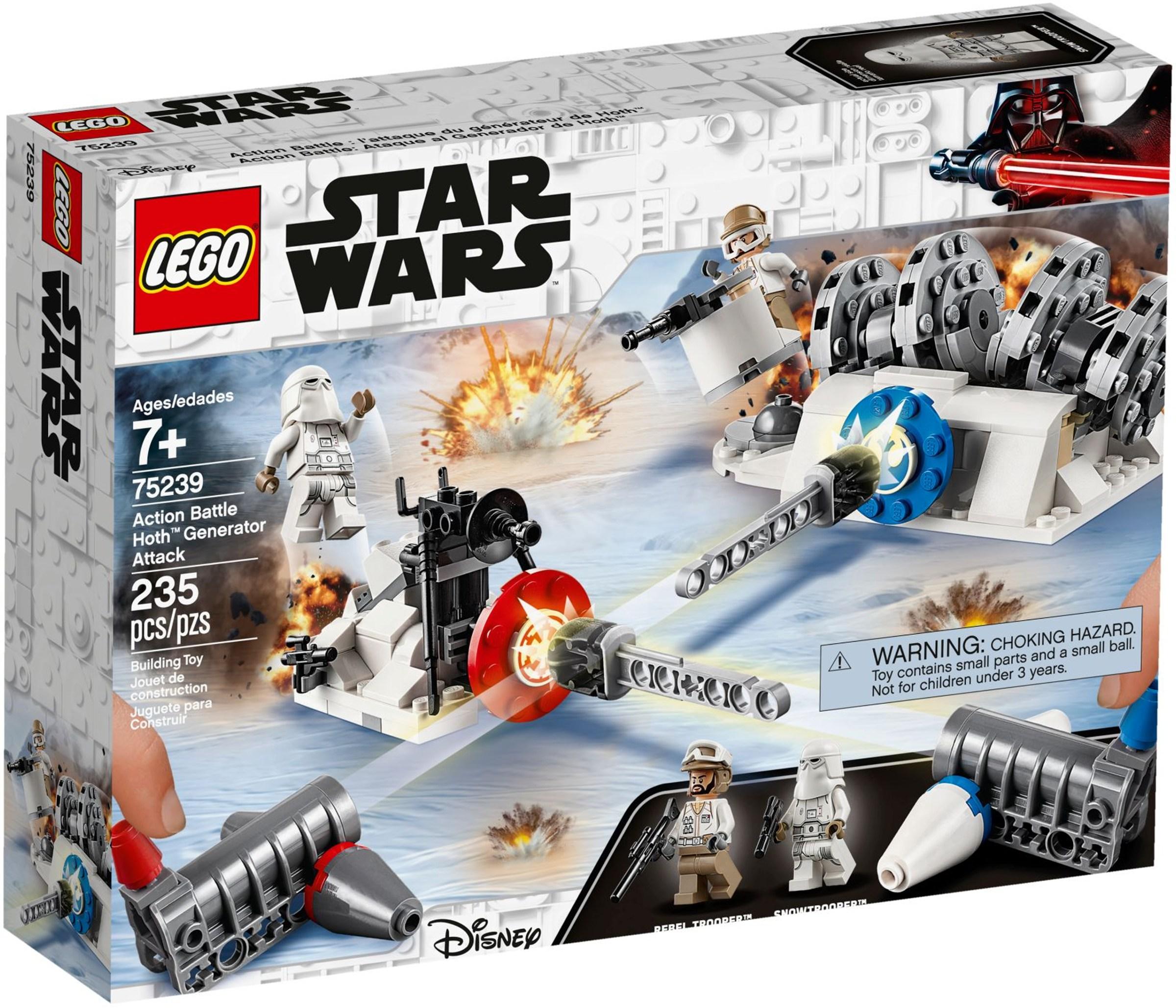 LEGO® Action Battle Hoth Generátor támadás