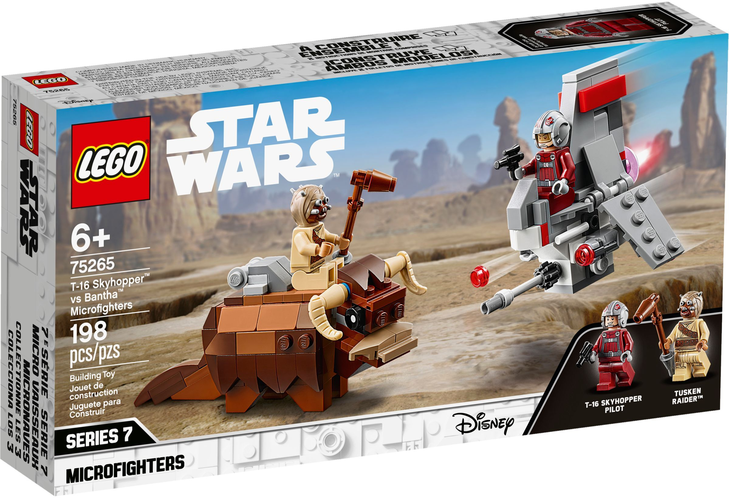 LEGO® 75265 - A T-16 Skyhopper™ a Buckalakó™ ellen Microfighter