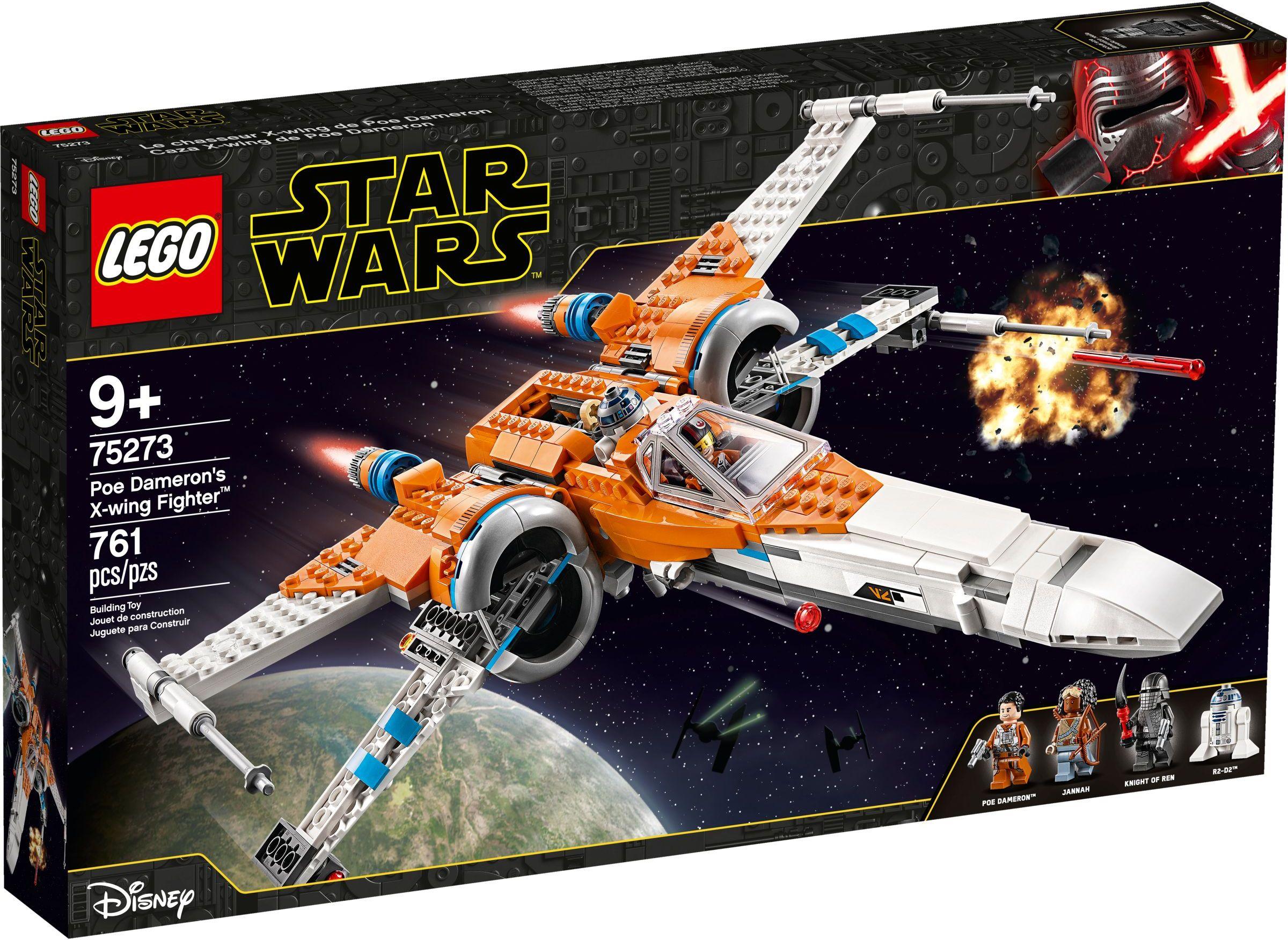 75273 - Poe Dameron X-szárnyú™ vadászgépe