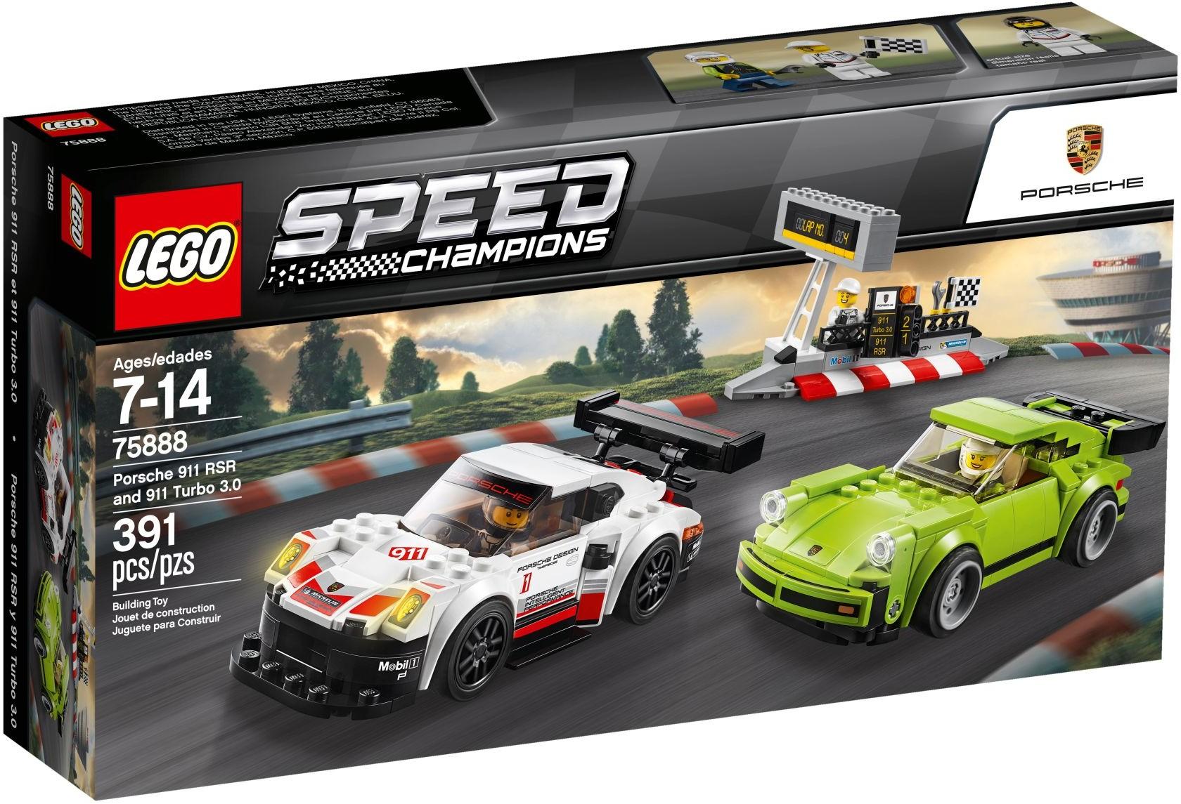 LEGO® 75888 - Porsche 911 RSR és 911 Turbo 3.0