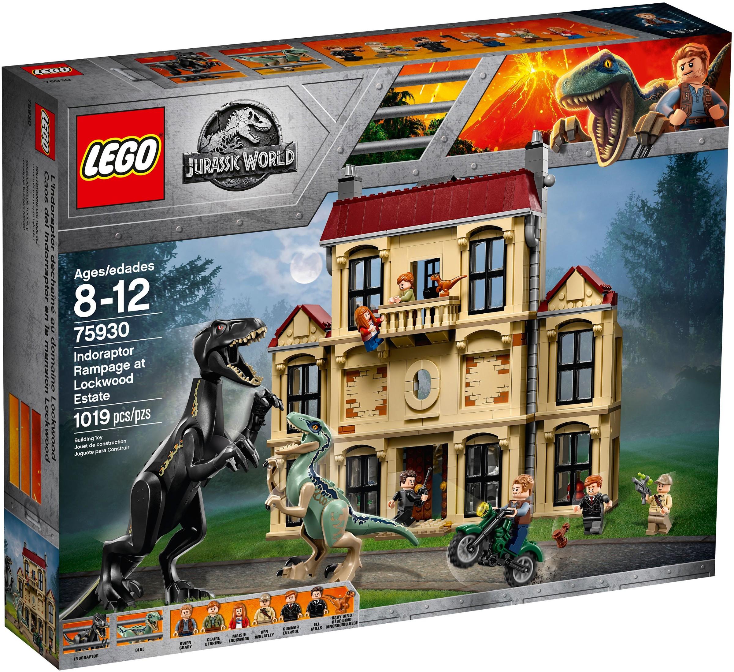 LEGO® 75930 - Dühöngő indoraptor a Lockwood birtokon