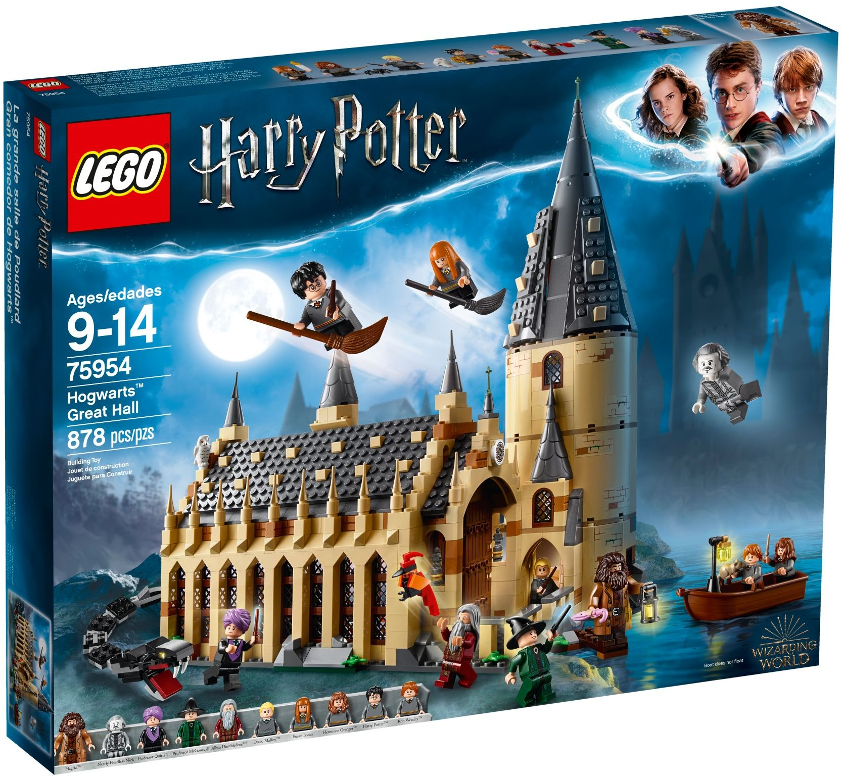 LEGO® Roxforti nagyterem