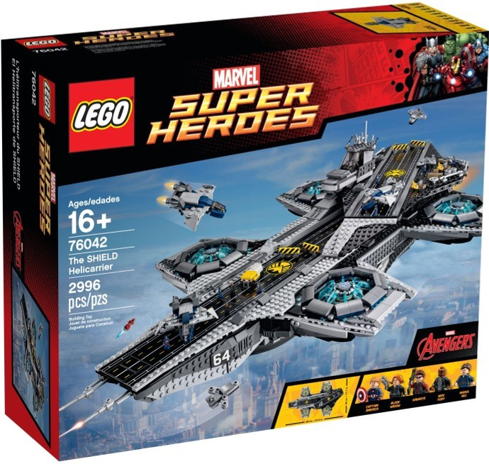 A SHIELD Helicarrier