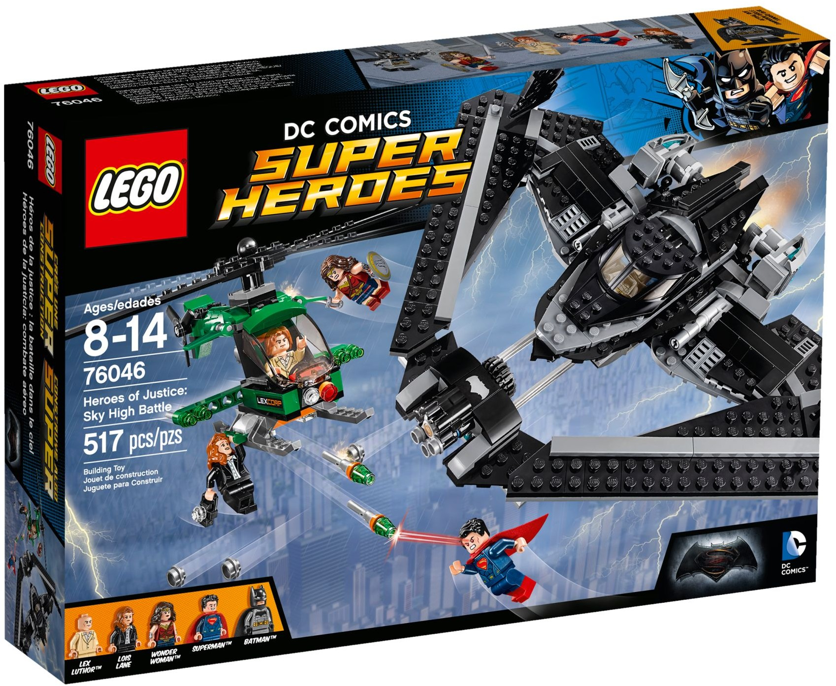 LEGO® Az igazság hősei: Csata a magasban