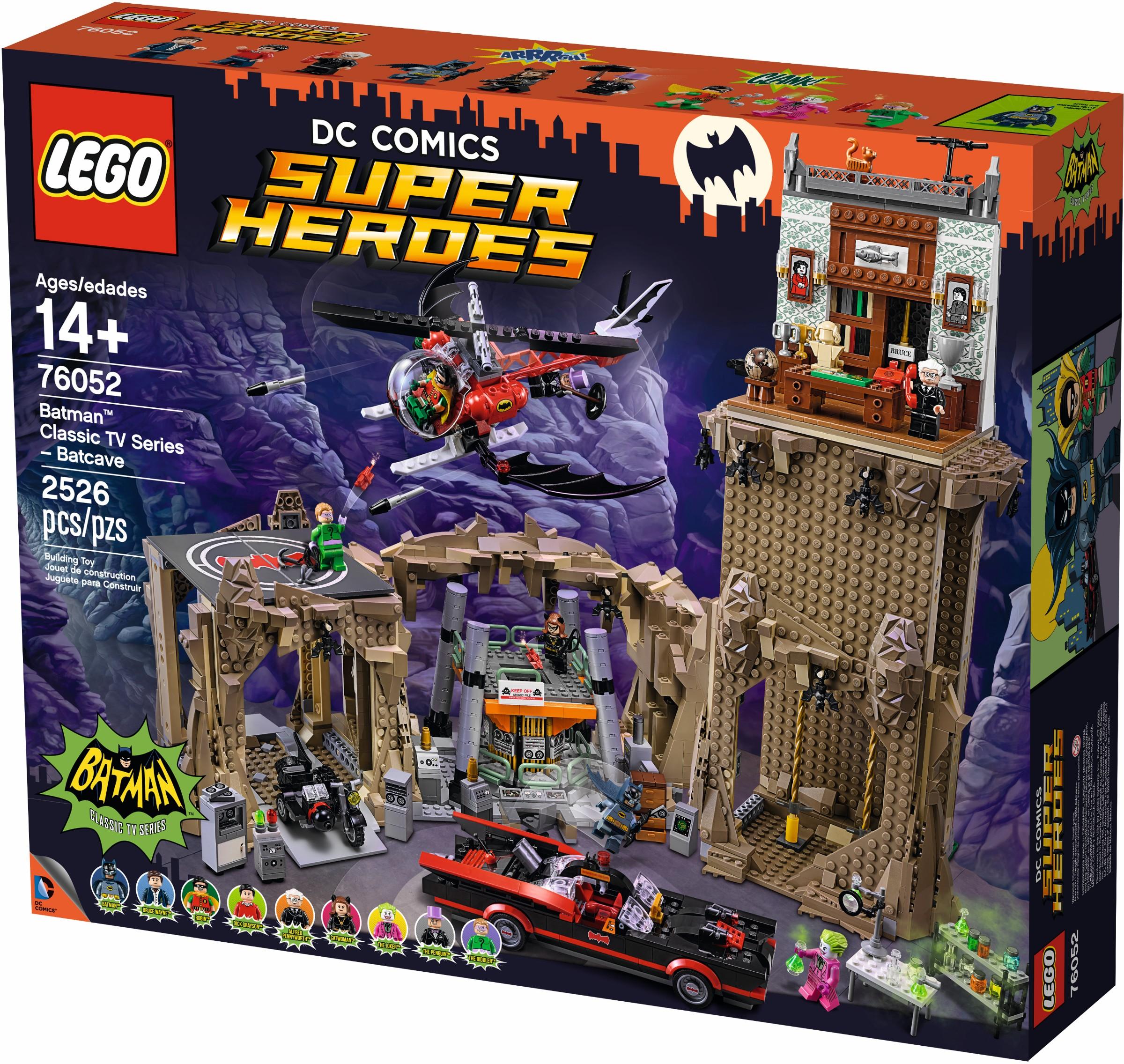 LEGO® Klasszikus TV sorozat - Batcave