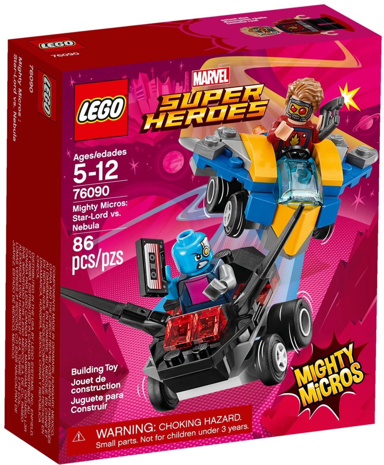 LEGO® Mighty Micros: Star-Lord és Nebula összecsapása