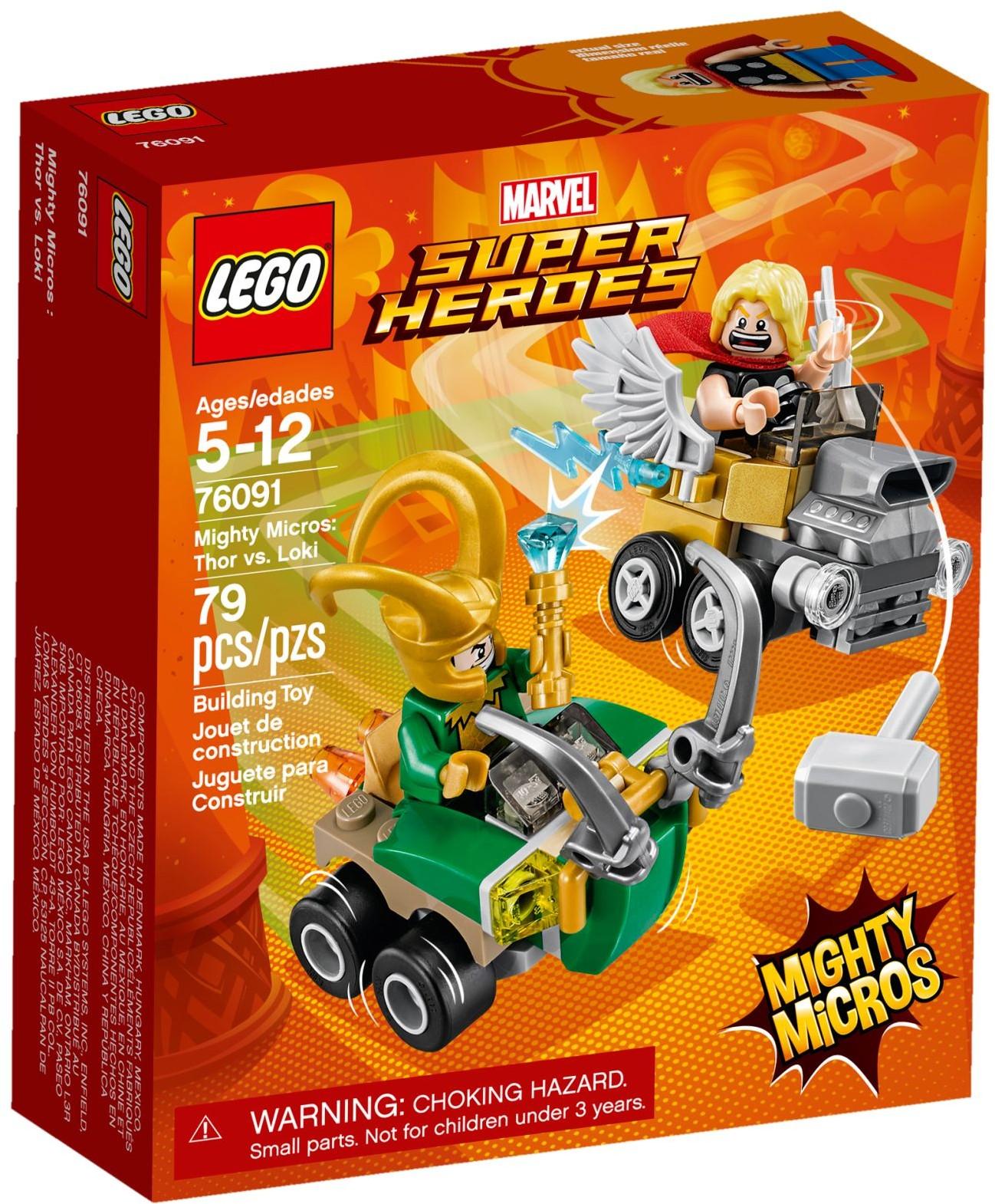 Mighty Micros: Thor és Loki összecsapása