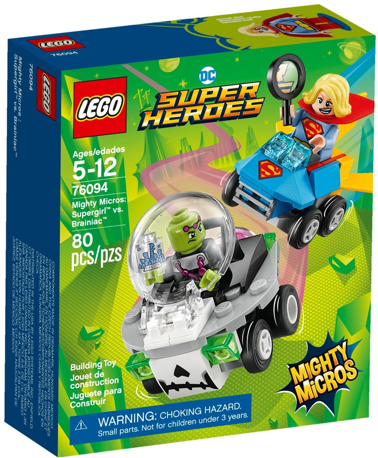 LEGO® Mighty Micros: Supergirl™ és Brainiac™ összecsapása