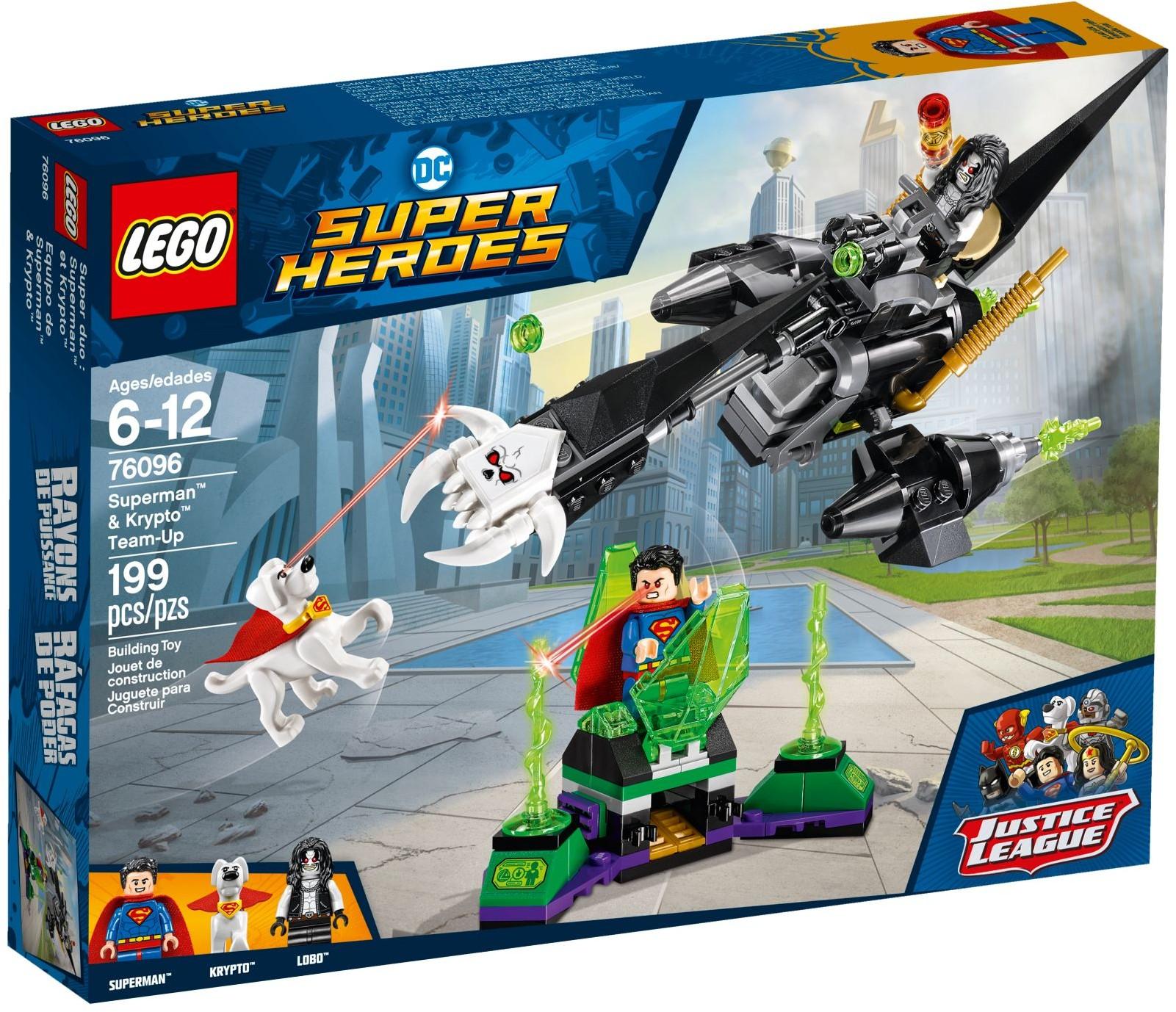 LEGO® 76096 - Superman™ és Krypto™ szövetsége