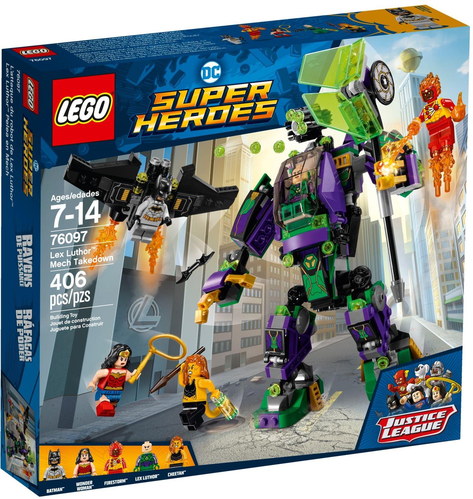 Lex Luthor™ robot támadása