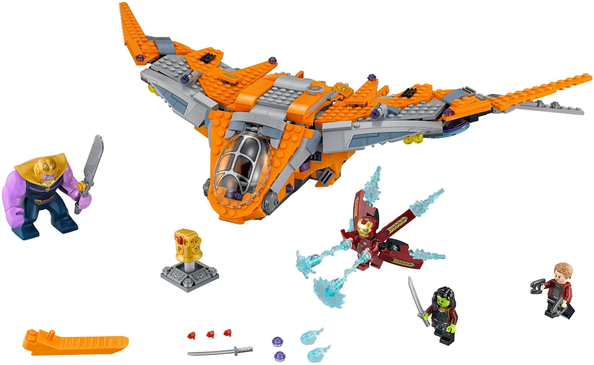 LEGO® 76107 - Thanos: Végső ütközet