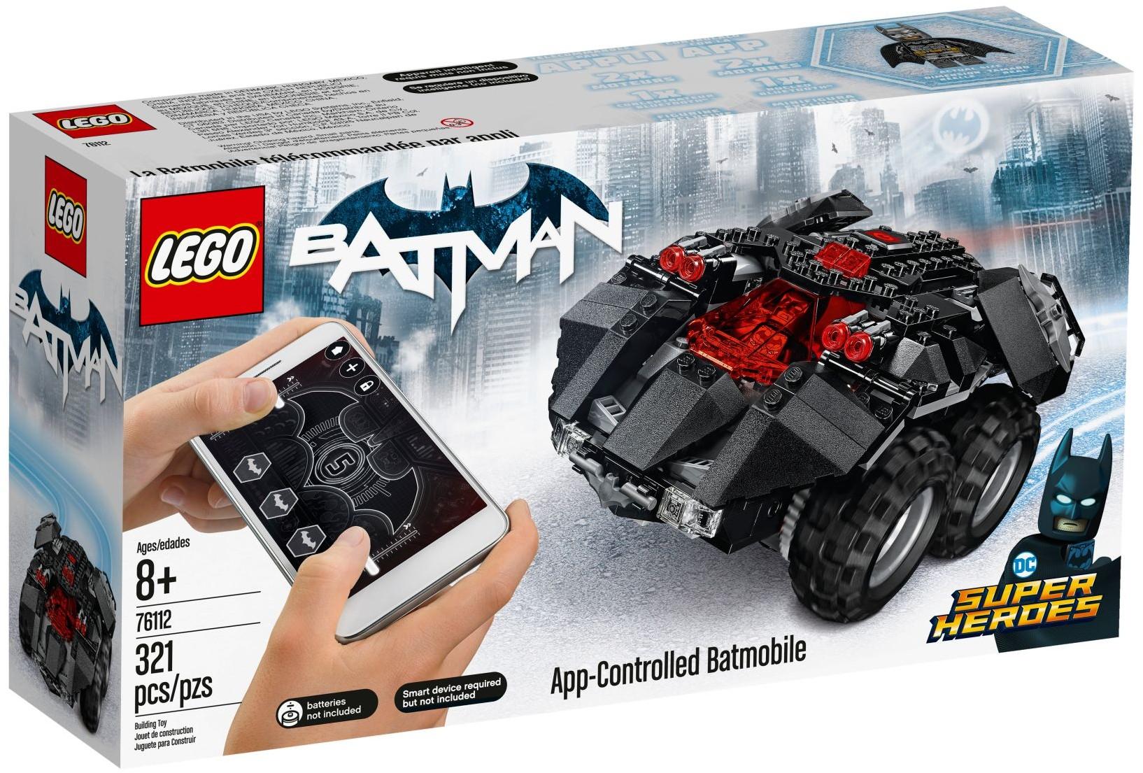 Applikációval irányítható Batmobil