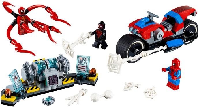 LEGO® Pókember motoros mentése
