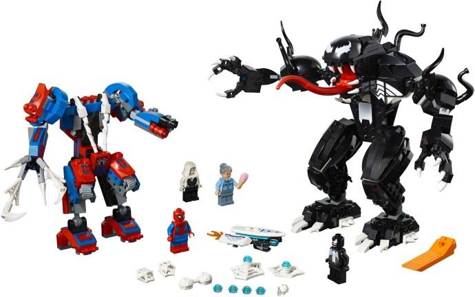 LEGO® Pók robot vs. Venom