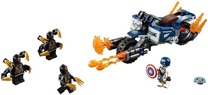 LEGO® Amerika Kapitány Outrider támadás
