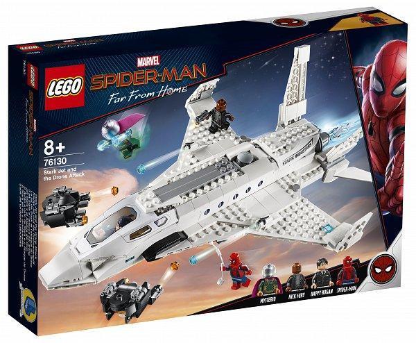 LEGO® 76130 - A Stark jet és a dróntámadás
