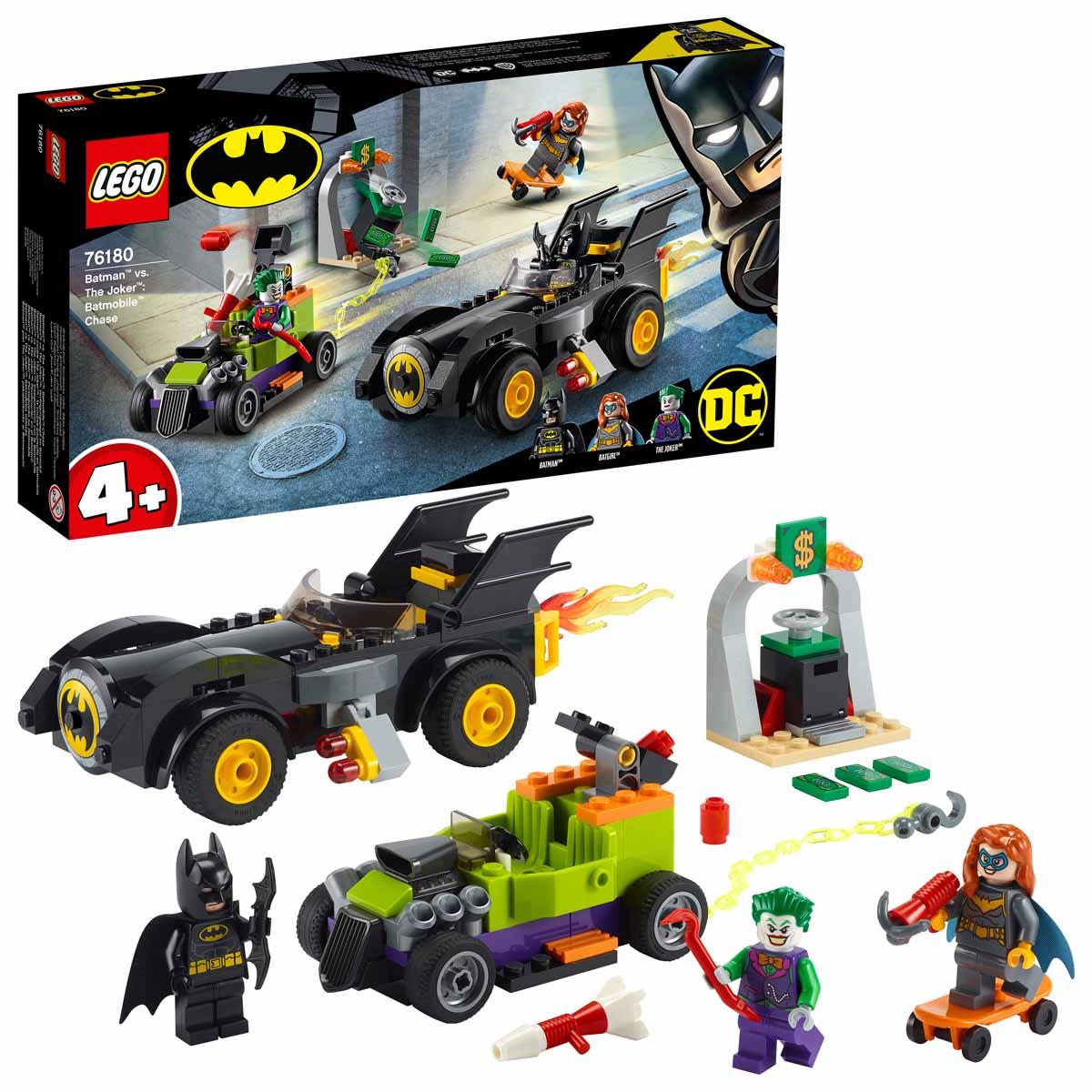 Batman™ vs. Joker™: Batmobile™ hajsza