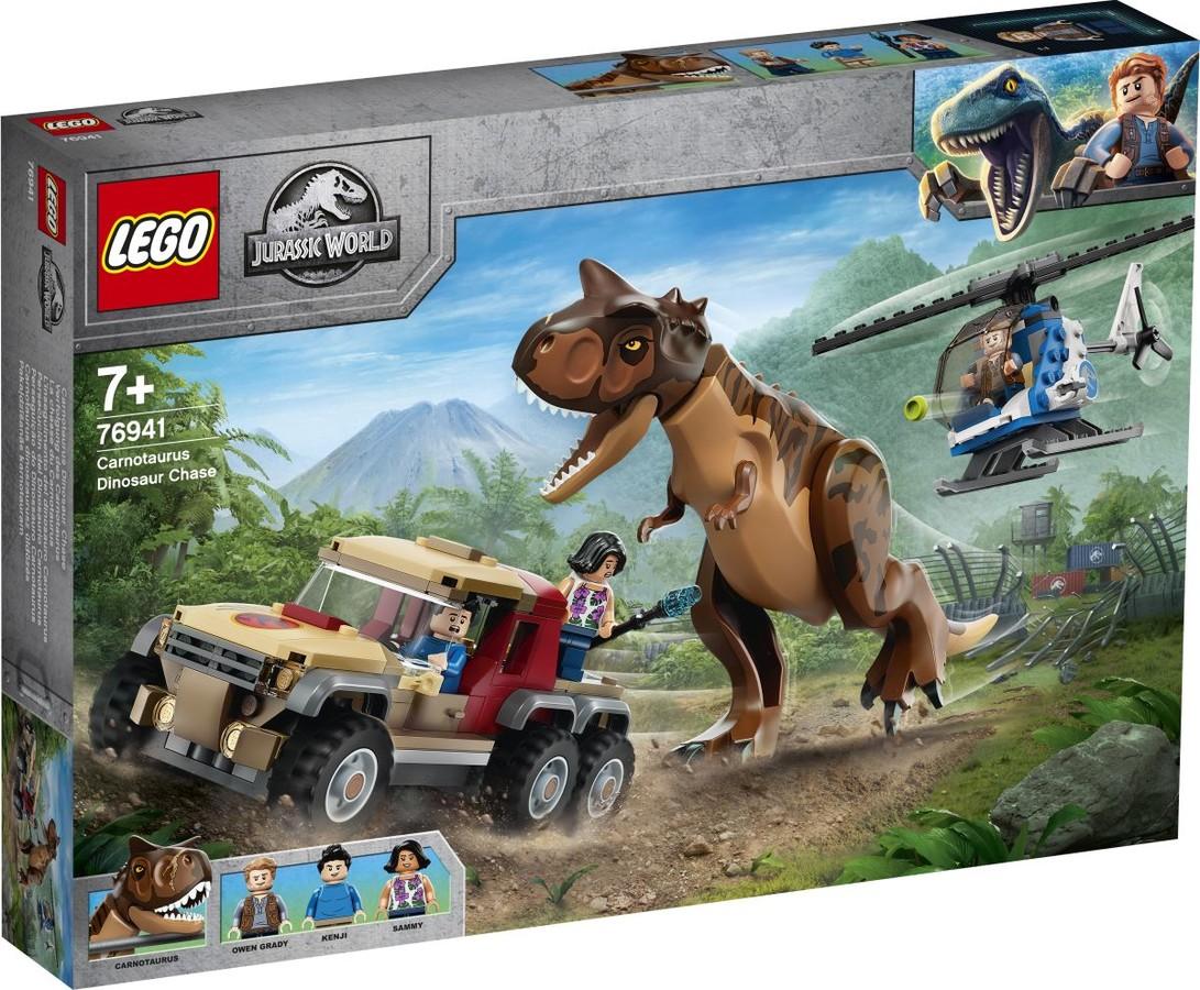 Jurassic World 76941 - Carnotaurus dinoszaurusz üldözés