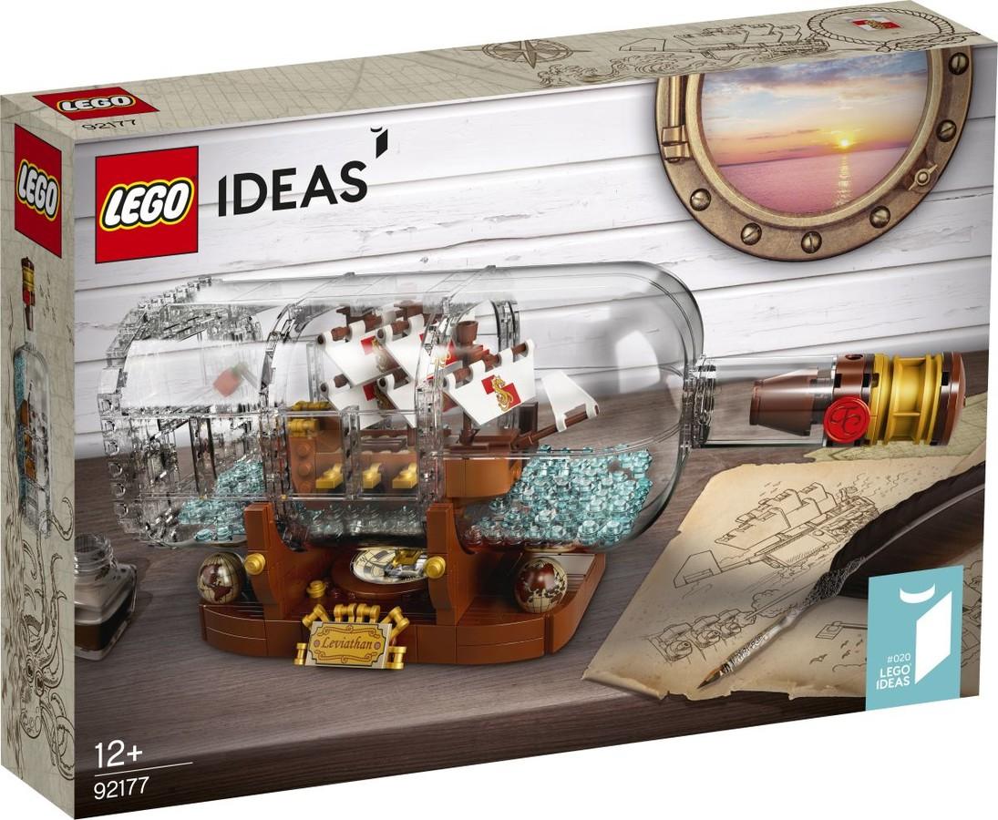 Ideas - CUUSOO 92177 - Hajó a palackban